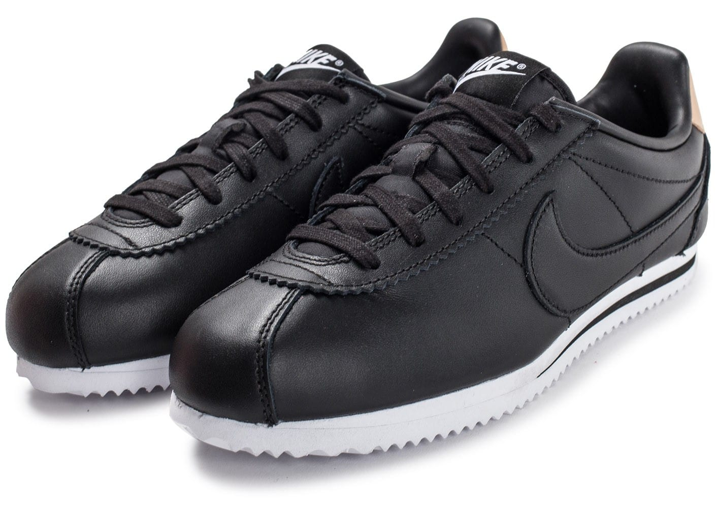 nike cortez junior se noire chaussures toutes les baskets sold es chausport. Black Bedroom Furniture Sets. Home Design Ideas