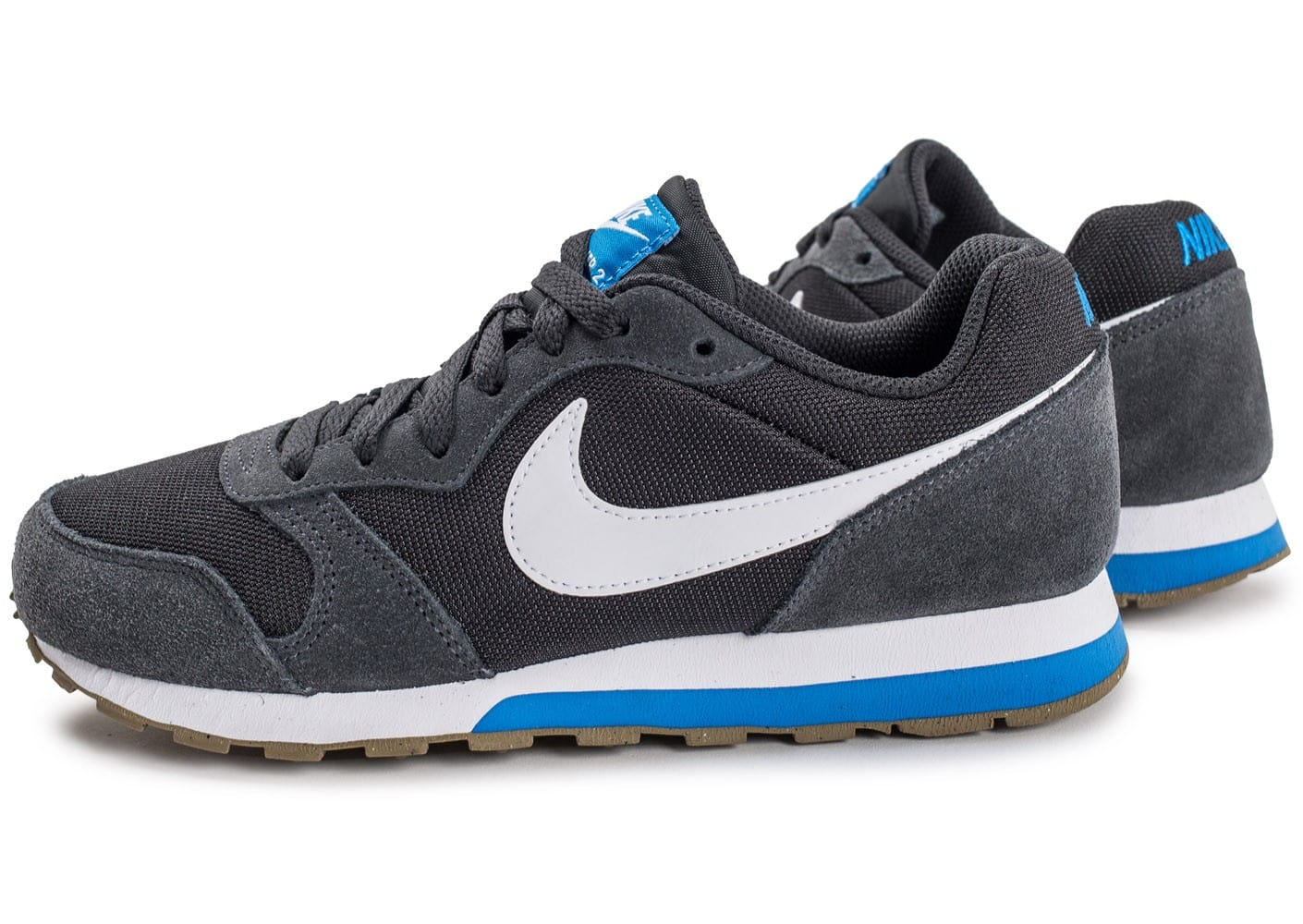 nike md runner 2 junior grise chaussures enfant chausport. Black Bedroom Furniture Sets. Home Design Ideas