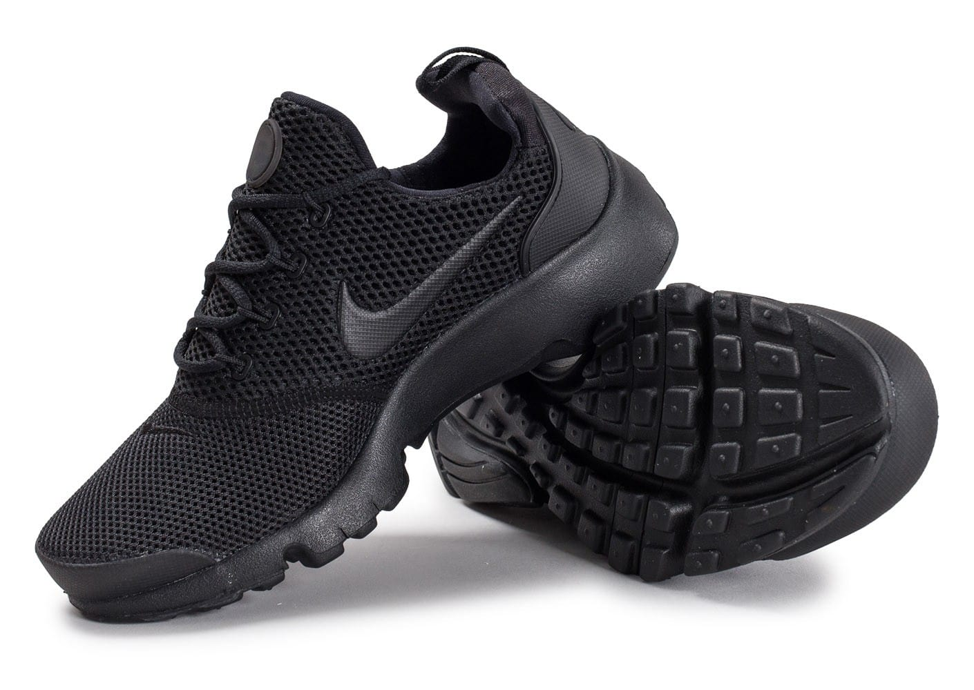 info for 3f858 9b5a9 Chaussures Nike Presto Fly Junior triple noir vue avant ...