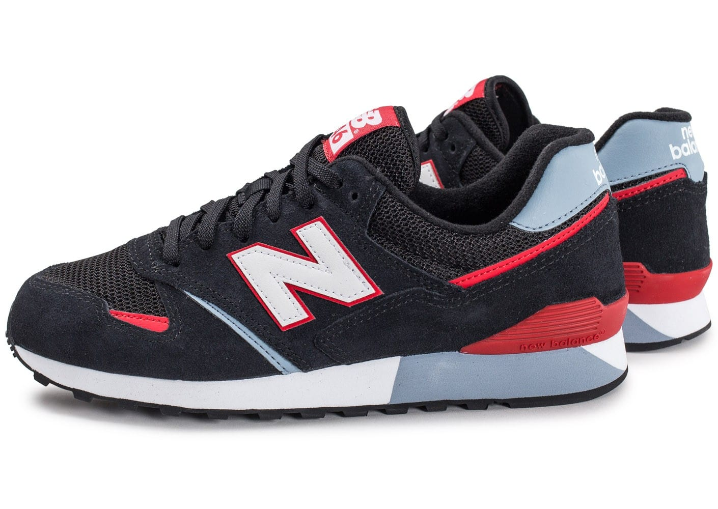 soldes new balance u446 krg noir et rouge chaussures. Black Bedroom Furniture Sets. Home Design Ideas