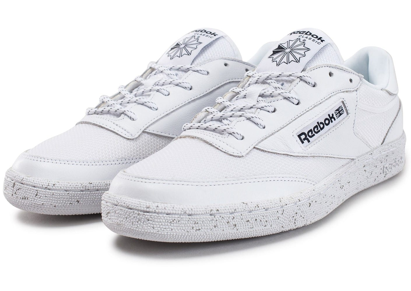 reebok club c 85 st blanche chaussures homme chausport. Black Bedroom Furniture Sets. Home Design Ideas