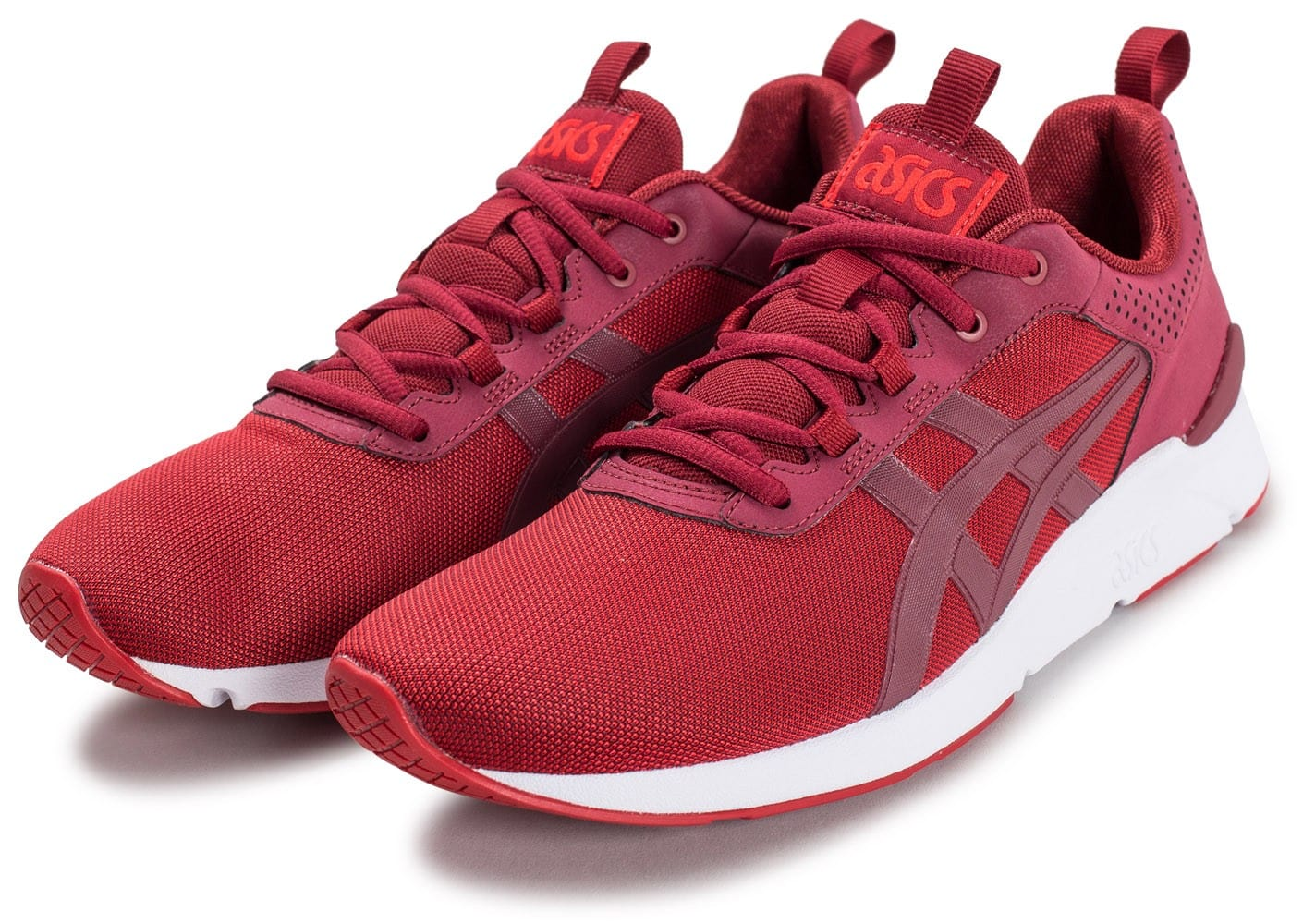 asics gel lyte v rouge chaussures homme chausport. Black Bedroom Furniture Sets. Home Design Ideas