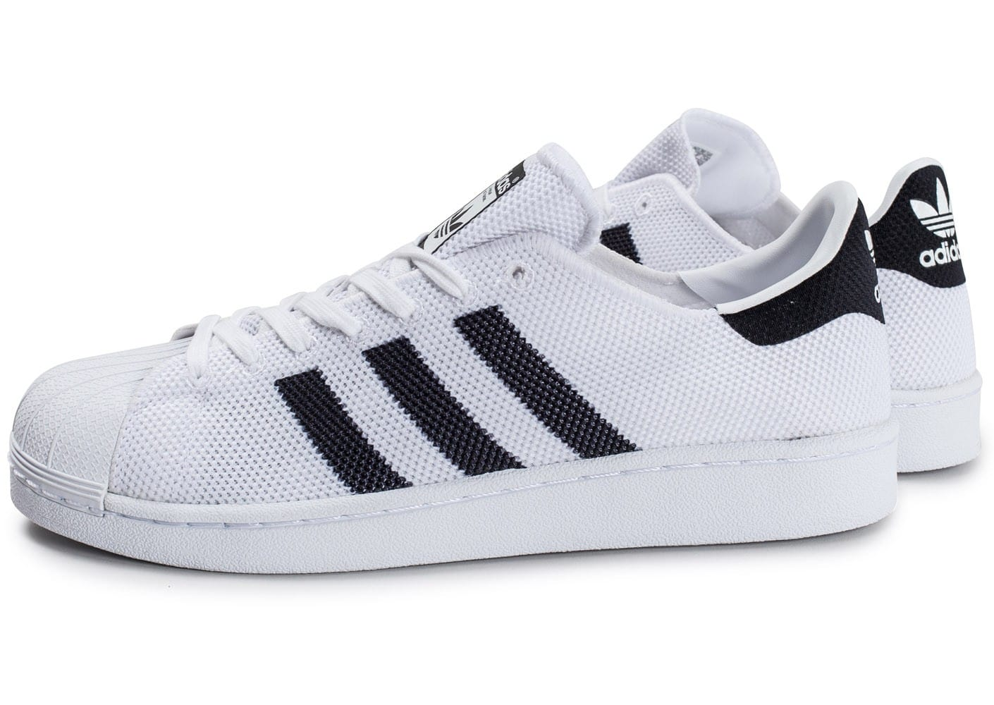 adidas superstar mesh blanche chaussures homme chausport. Black Bedroom Furniture Sets. Home Design Ideas