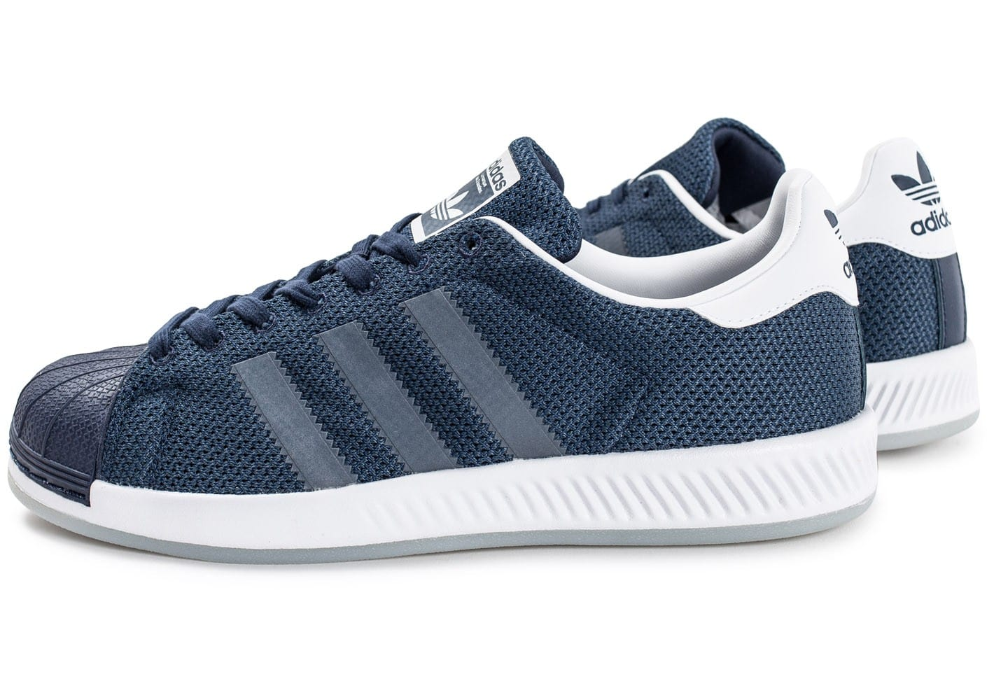 adidas superstar bounce bleu marine chaussures homme chausport. Black Bedroom Furniture Sets. Home Design Ideas