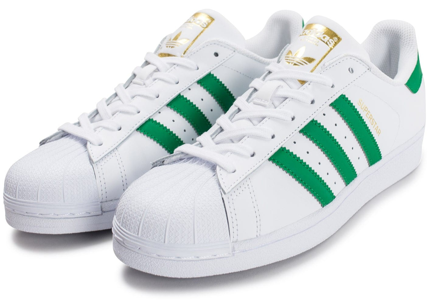 Chaussures Homme Adidas Superstar Snap Foundation Vert Aqaw6spc Et Blanc O0knwP