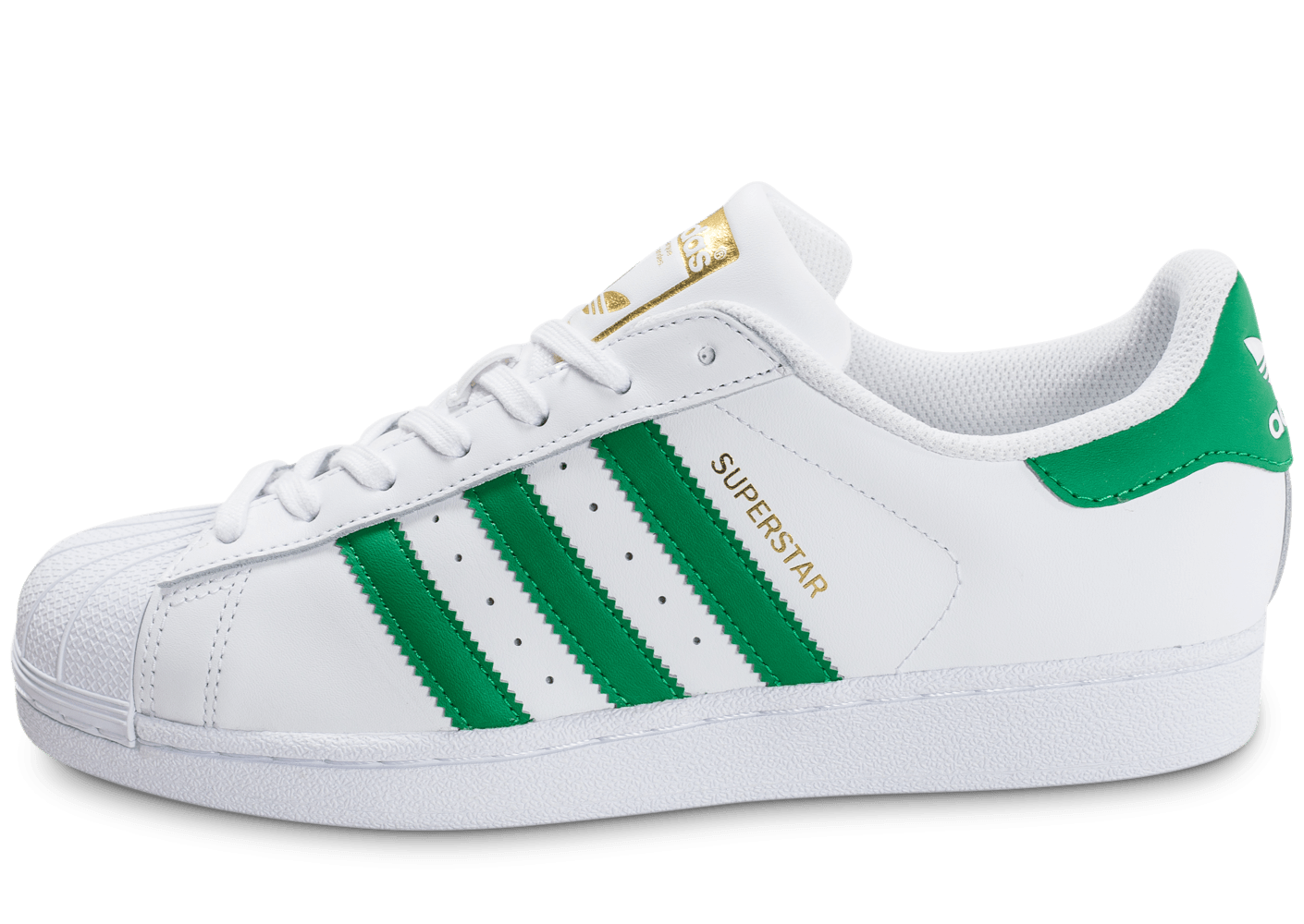 adidas superstar foundation blanc et vert chaussures. Black Bedroom Furniture Sets. Home Design Ideas