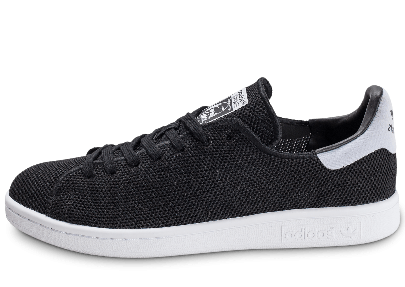 Adidas stan smith mesh noire chaussures homme chausport for Adidas nuove stan smith