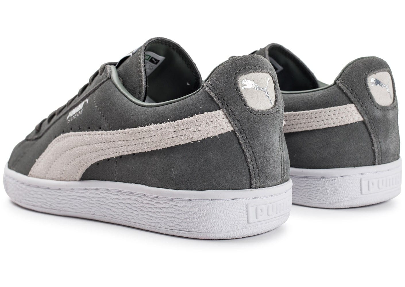 puma suede classic grise chaussures homme chausport. Black Bedroom Furniture Sets. Home Design Ideas