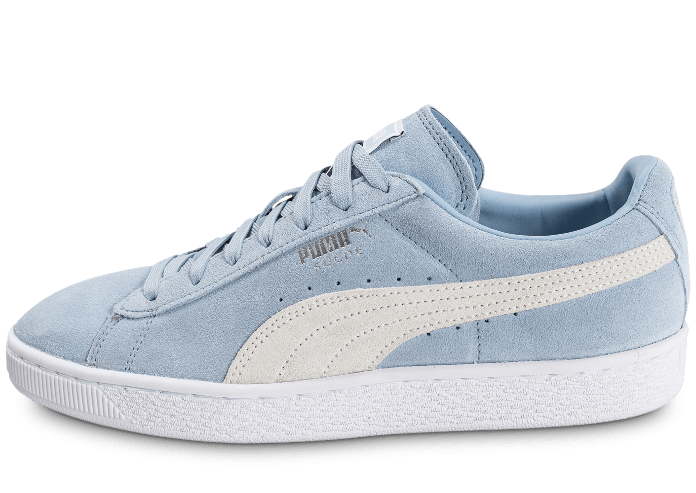 puma suede classic blue fog chaussures homme chausport. Black Bedroom Furniture Sets. Home Design Ideas