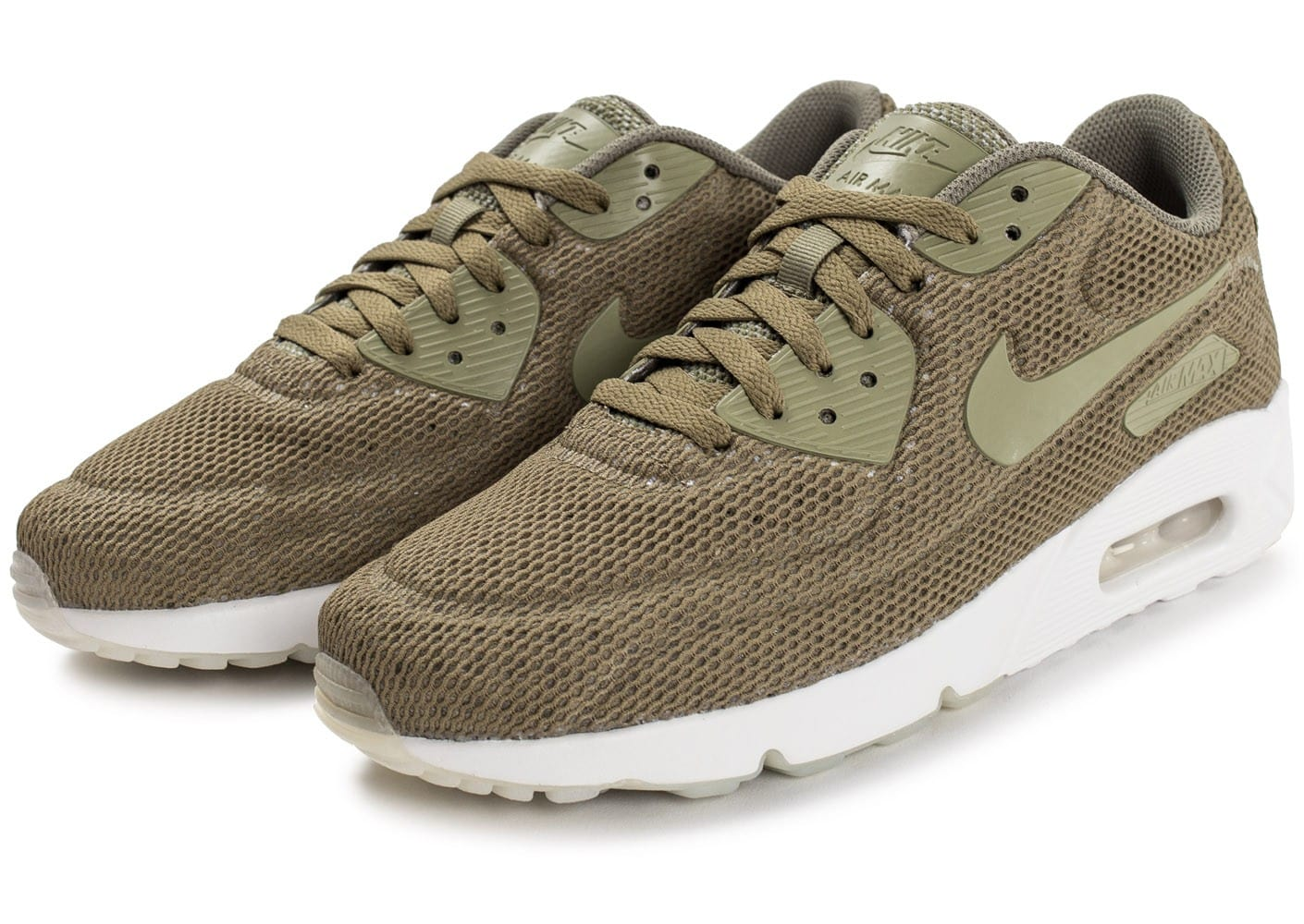 new product df77e 72a60 Chaussures Nike Air Max 90 Ultra 2.0 Breeze kaki vue intérieure . ...