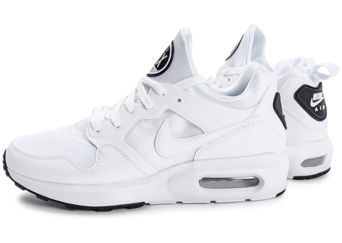 nike air max prime blanc chaussures homme chausport. Black Bedroom Furniture Sets. Home Design Ideas