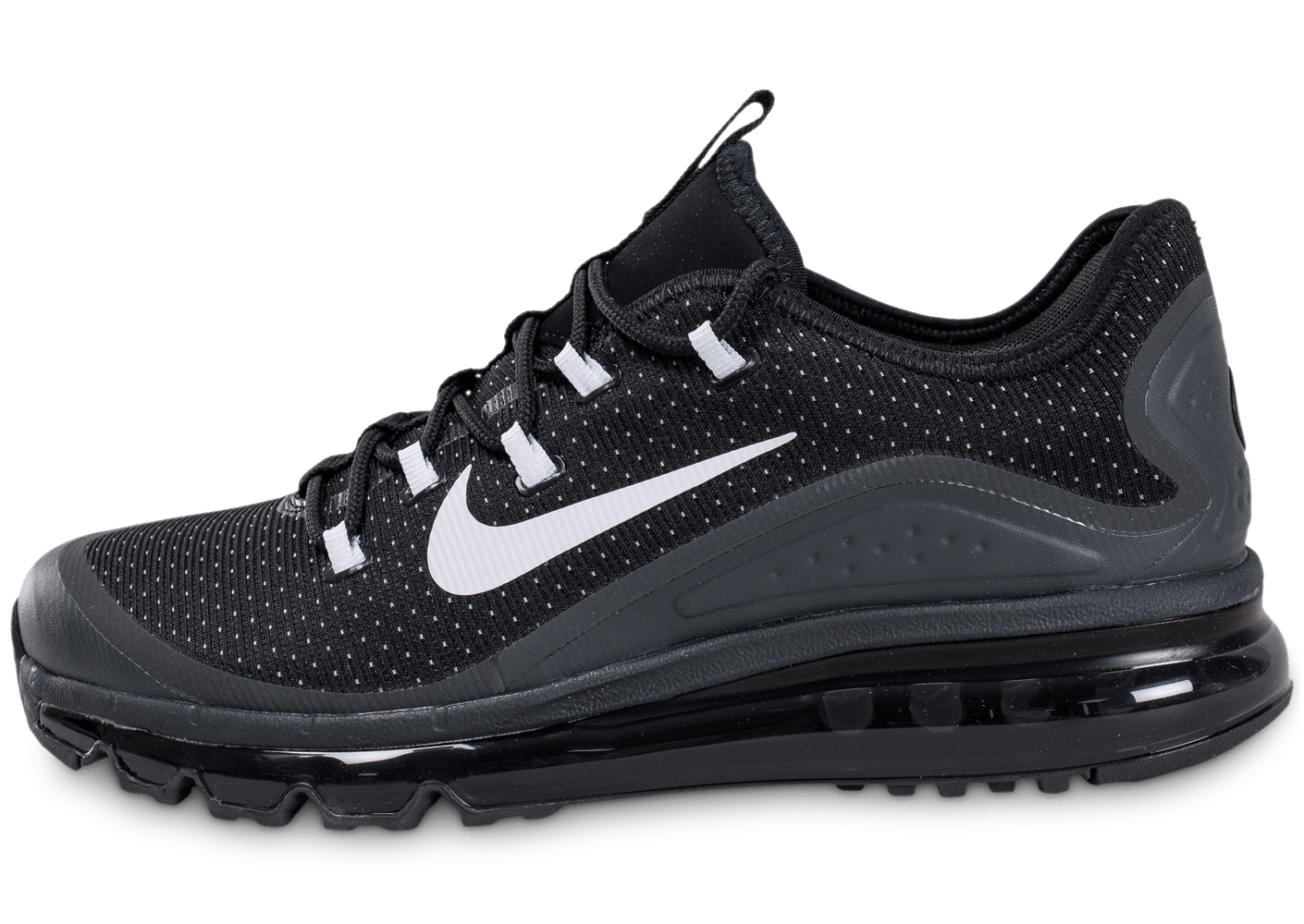 nike air max more noire chaussures homme chausport. Black Bedroom Furniture Sets. Home Design Ideas