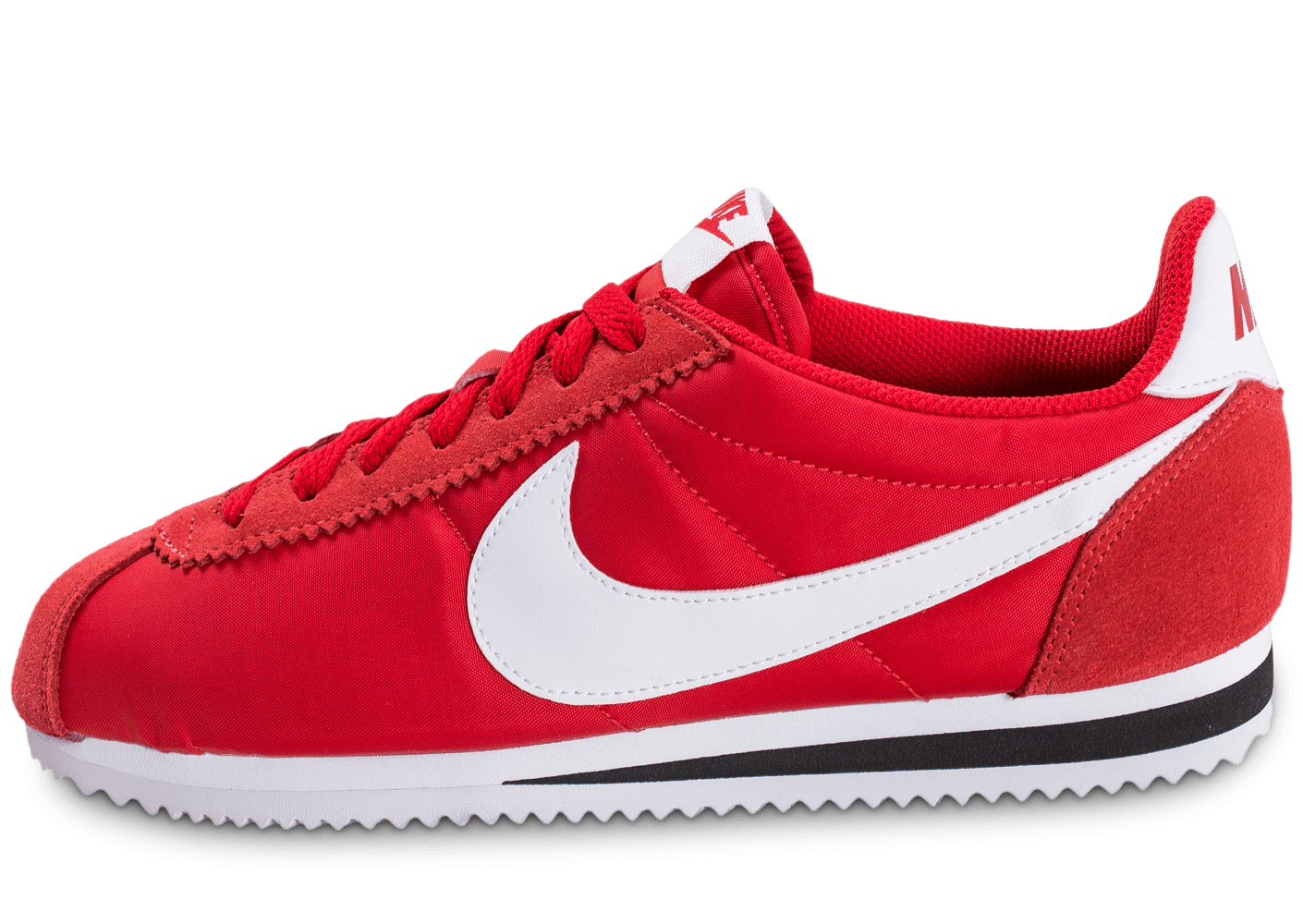nike cortez nylon rouge chaussures baskets homme chausport. Black Bedroom Furniture Sets. Home Design Ideas
