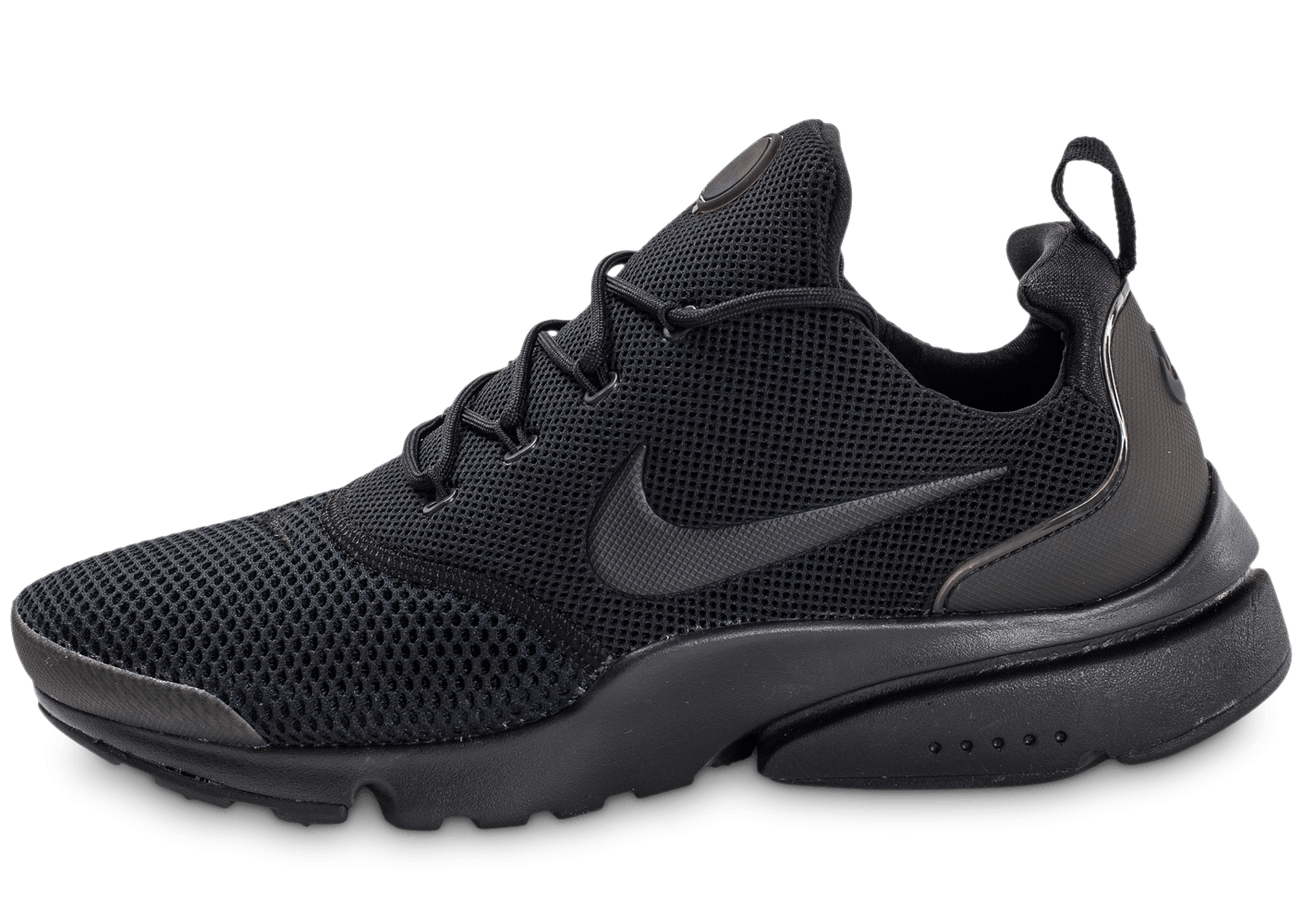nike presto fly triple noir chaussures homme chausport. Black Bedroom Furniture Sets. Home Design Ideas