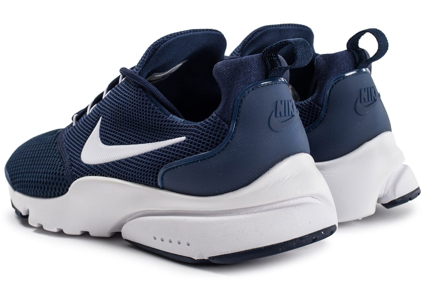 promo code ad455 249ab ... chaussures nike presto fly bleu marine vue arriere