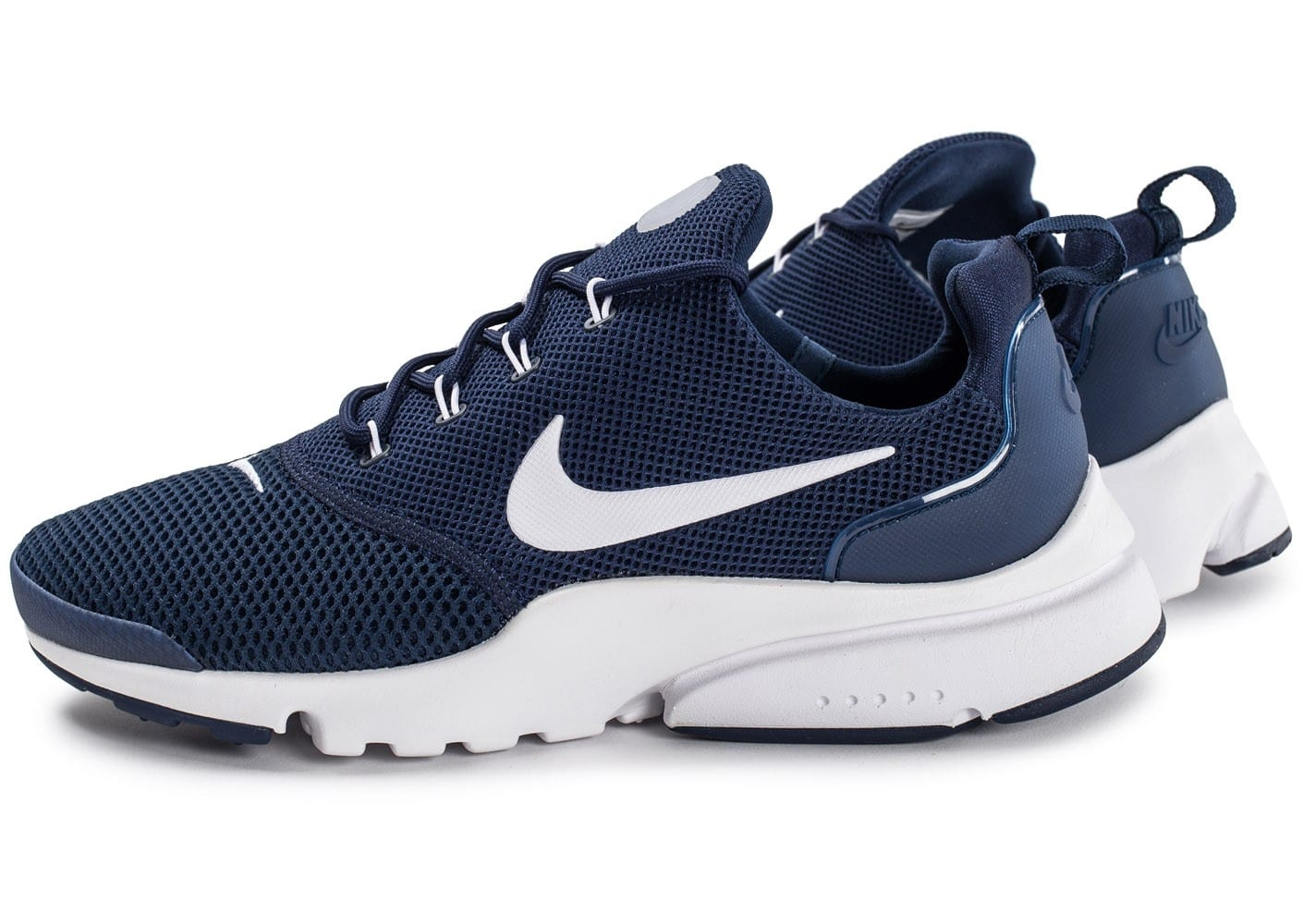 nike presto fly bleu marine chaussures baskets homme chausport. Black Bedroom Furniture Sets. Home Design Ideas
