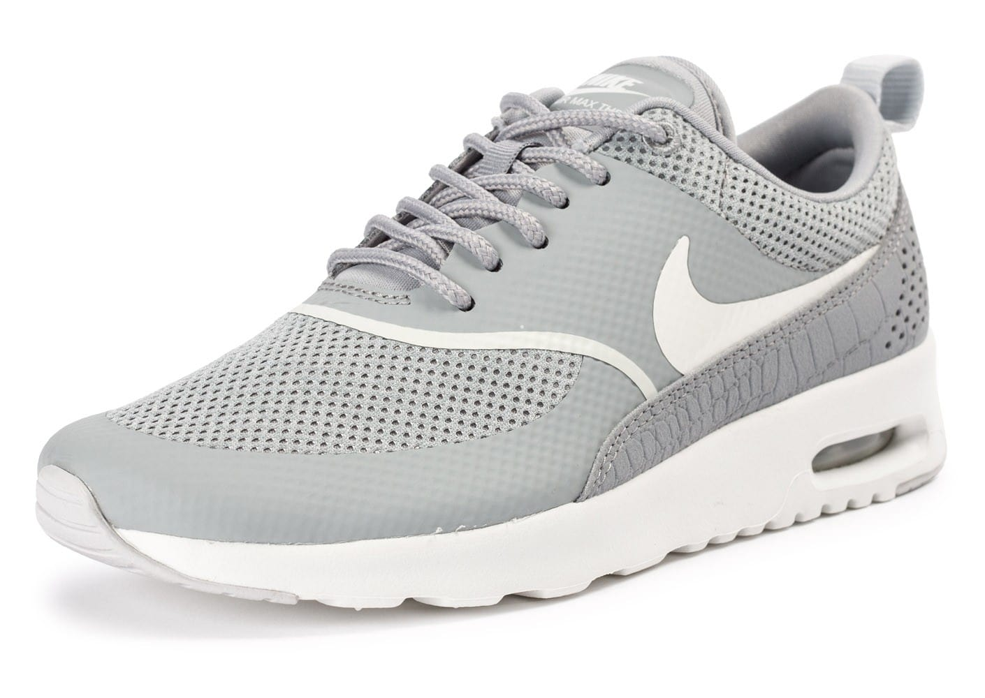nike air max thea matte silver chaussures chaussures chausport. Black Bedroom Furniture Sets. Home Design Ideas