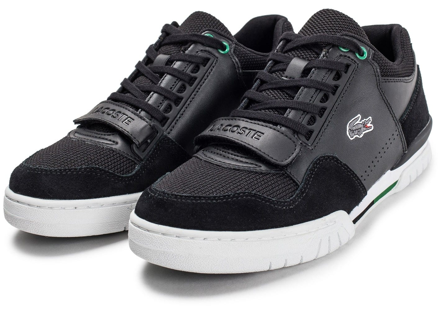 lacoste missouri noire chaussures homme chausport. Black Bedroom Furniture Sets. Home Design Ideas