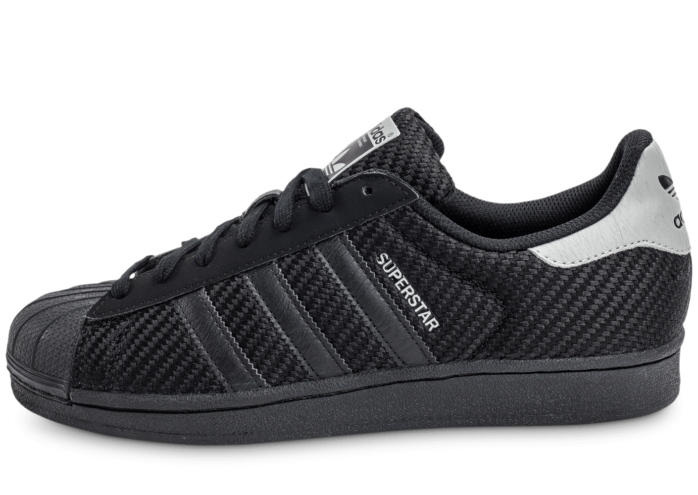 adidas superstar txt noire chaussures homme chausport. Black Bedroom Furniture Sets. Home Design Ideas