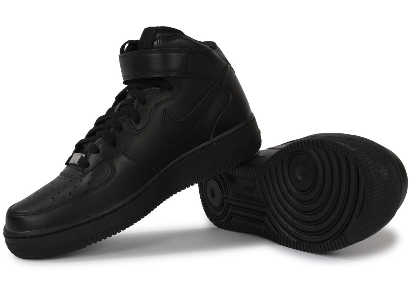 Nike Air Force 1 Mid 07 Noire - Chaussures Homme - Chausport