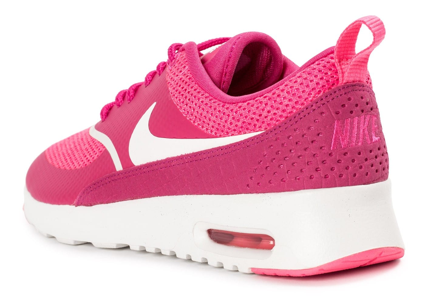 buy popular cb1b7 b2b34 ... chaussures nike air max thea rose vue arriere
