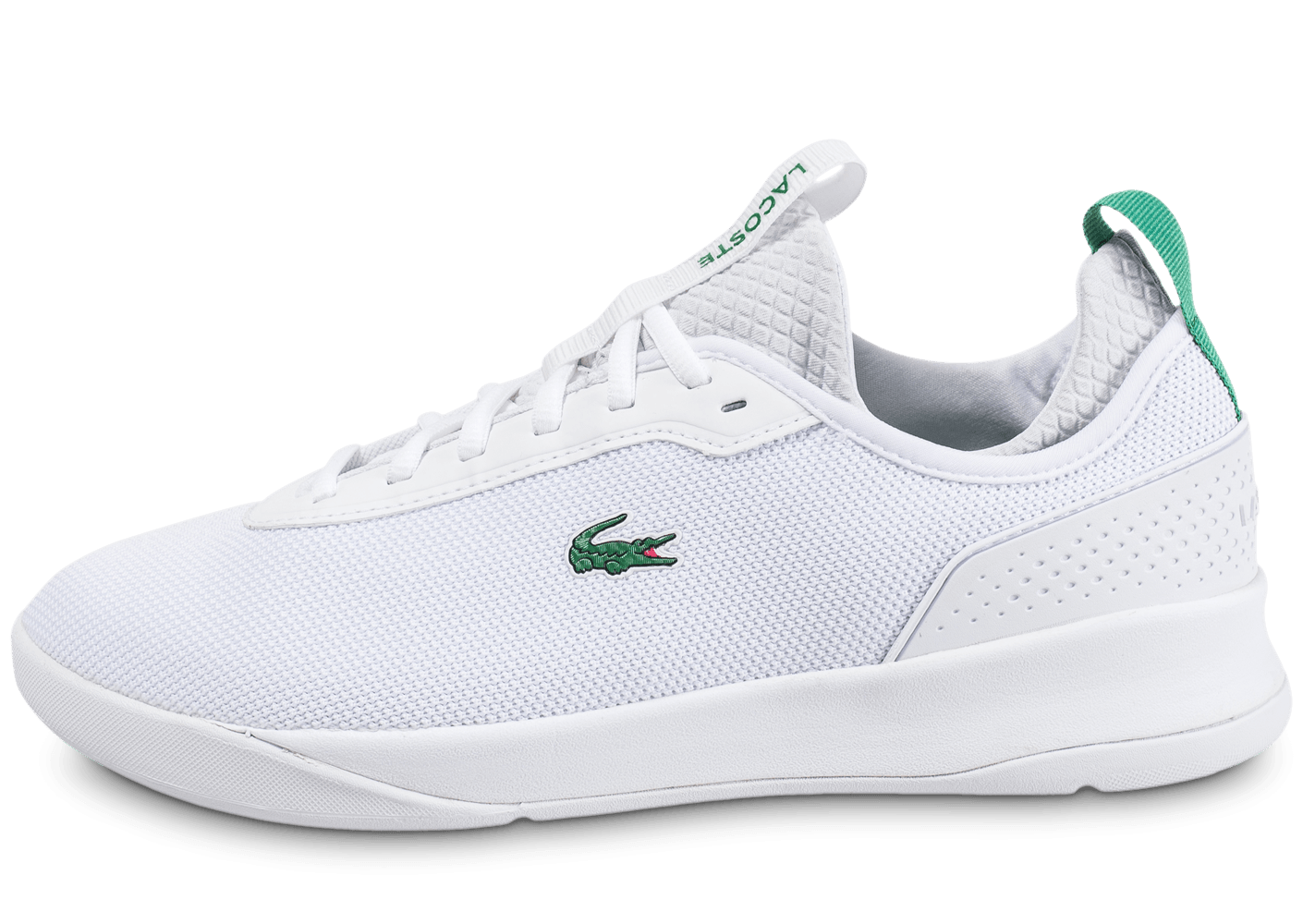 lacoste lt spirit 2 blanche chaussures baskets homme chausport. Black Bedroom Furniture Sets. Home Design Ideas