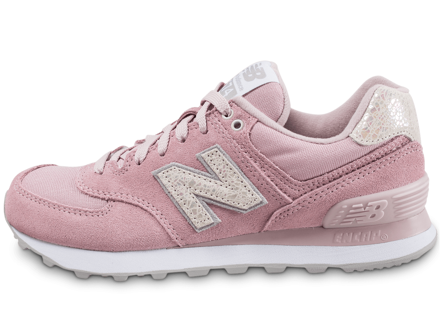 new balance wl574 noir rose