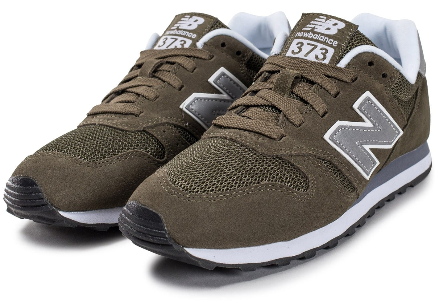 new balance ml373 olv kaki chaussures black friday chausport. Black Bedroom Furniture Sets. Home Design Ideas