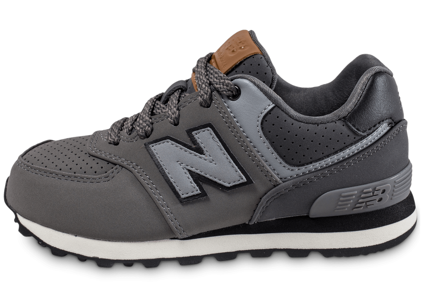 New Balance KL574 Enfant grise - Chaussures Black Friday - Chausport
