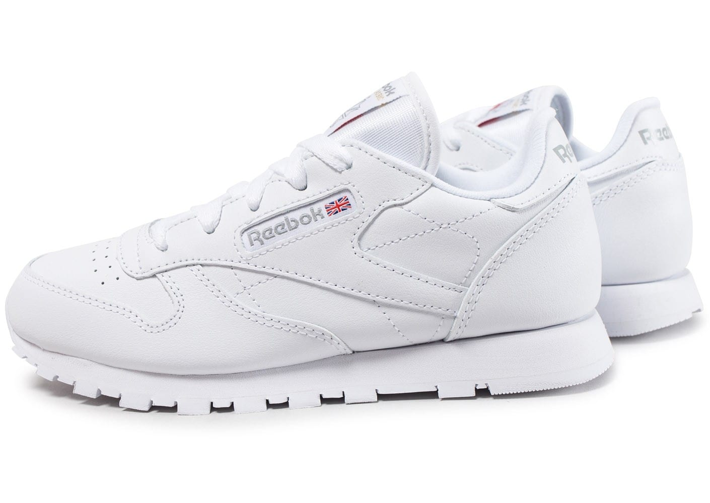 reebok classic enfant blanche chaussures enfant chausport. Black Bedroom Furniture Sets. Home Design Ideas