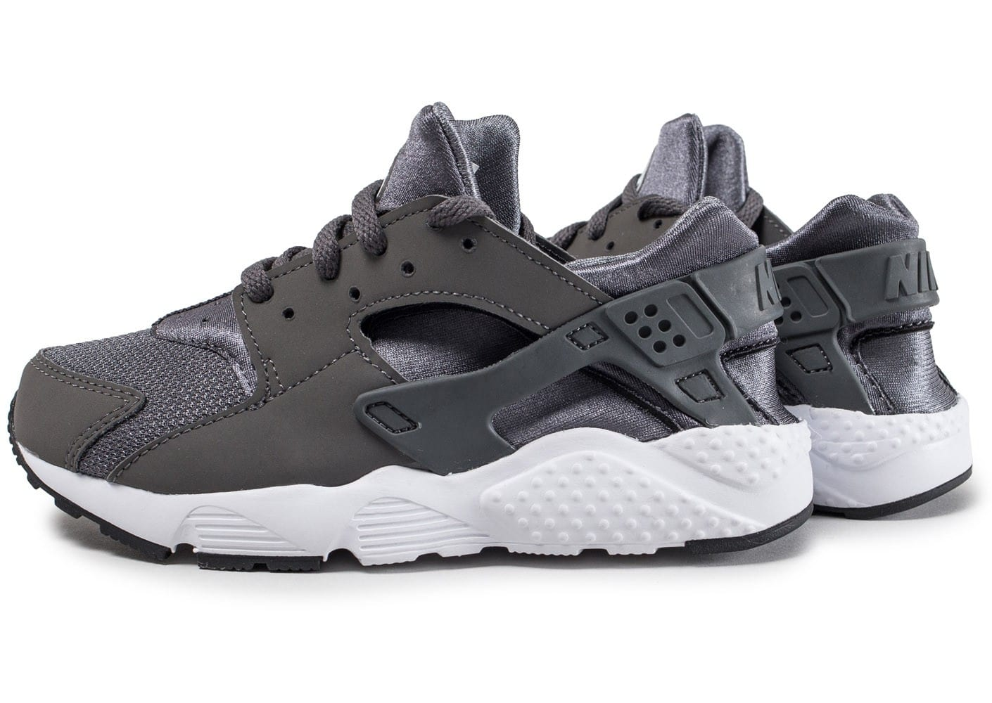 nike air huarache run enfant anthracite chaussures enfant chausport. Black Bedroom Furniture Sets. Home Design Ideas