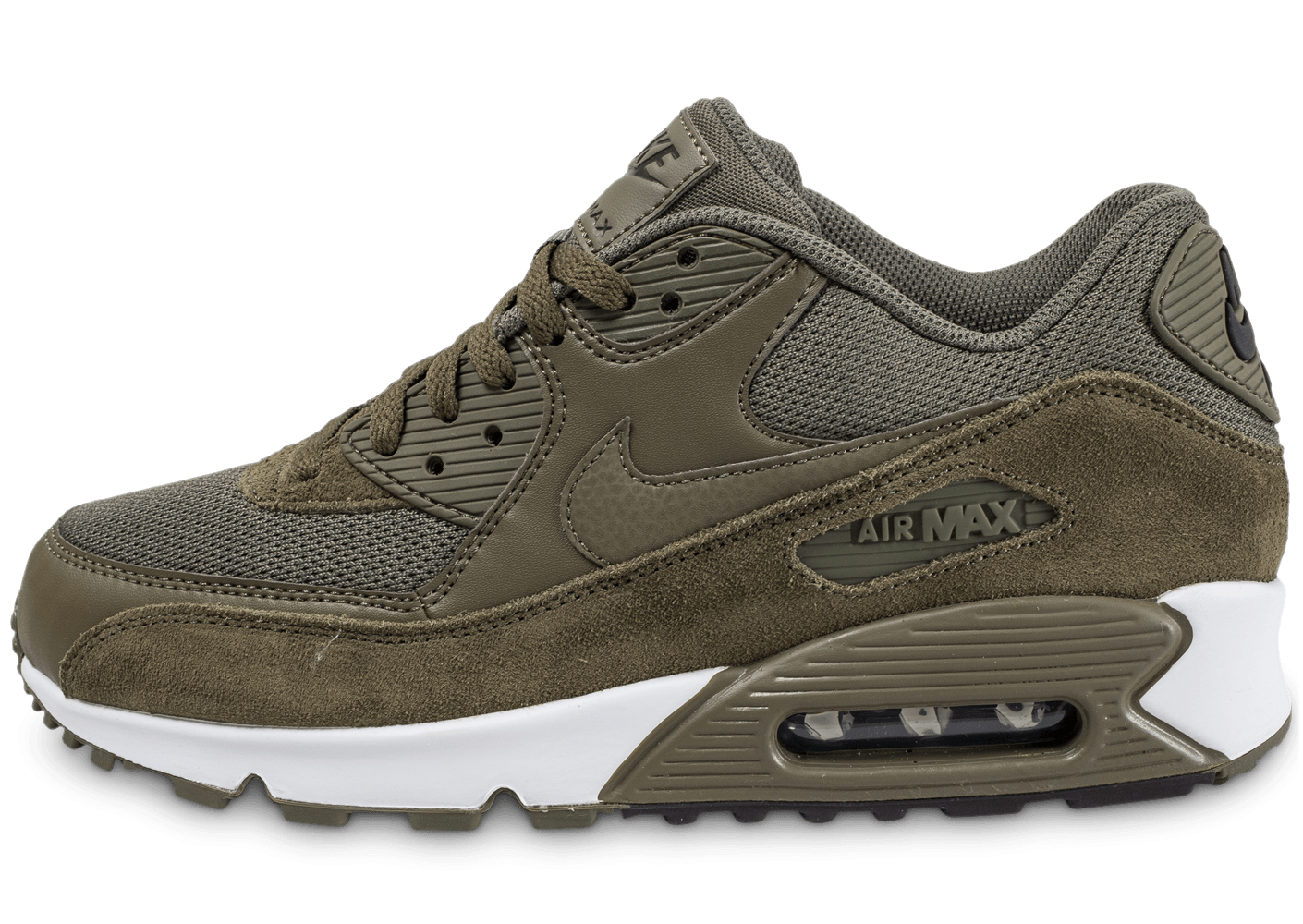 nike air max 90 essential medium olive chaussures baskets homme chausport. Black Bedroom Furniture Sets. Home Design Ideas