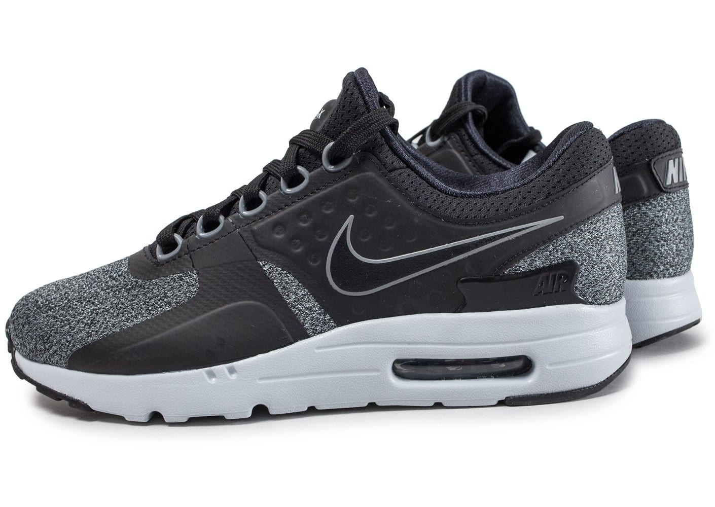nike air max zero noire et grise chaussures homme chausport. Black Bedroom Furniture Sets. Home Design Ideas