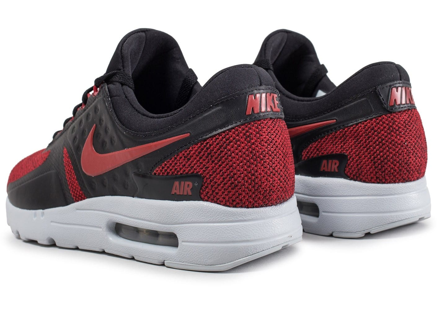 nike air max zero se tough red chaussures homme chausport. Black Bedroom Furniture Sets. Home Design Ideas