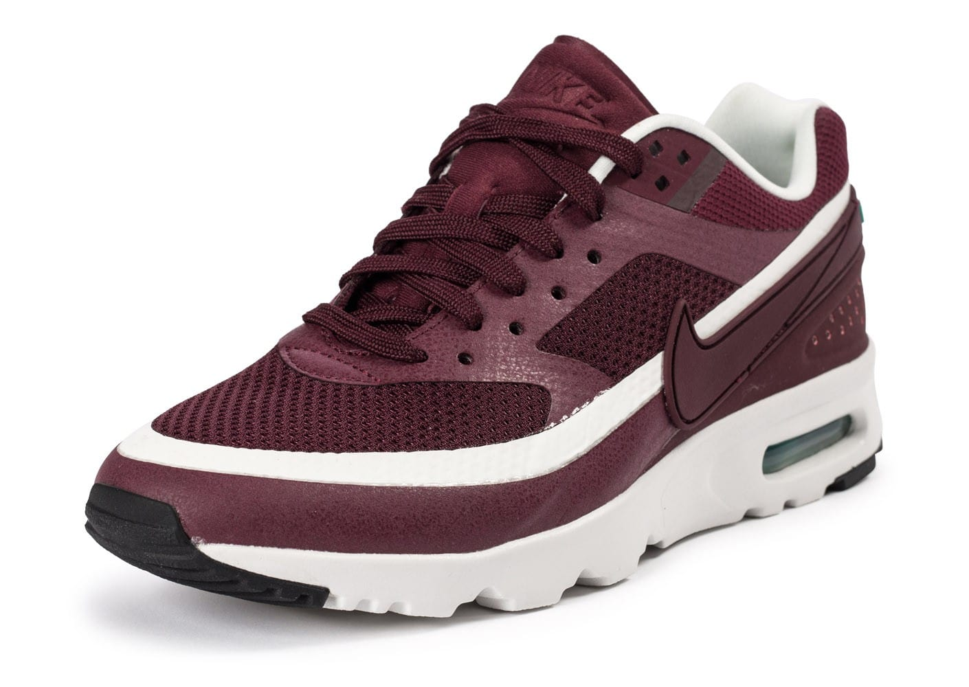 online store 86939 0b367 chaussures nike air max bw ultra w bordeaux vue avant