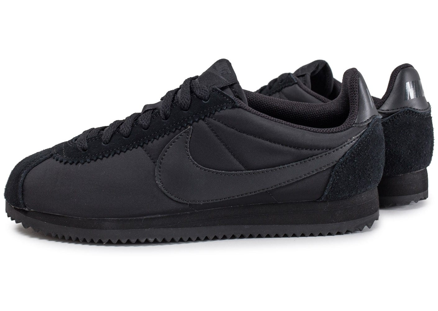 nike cortez nylon noire chaussures homme chausport. Black Bedroom Furniture Sets. Home Design Ideas