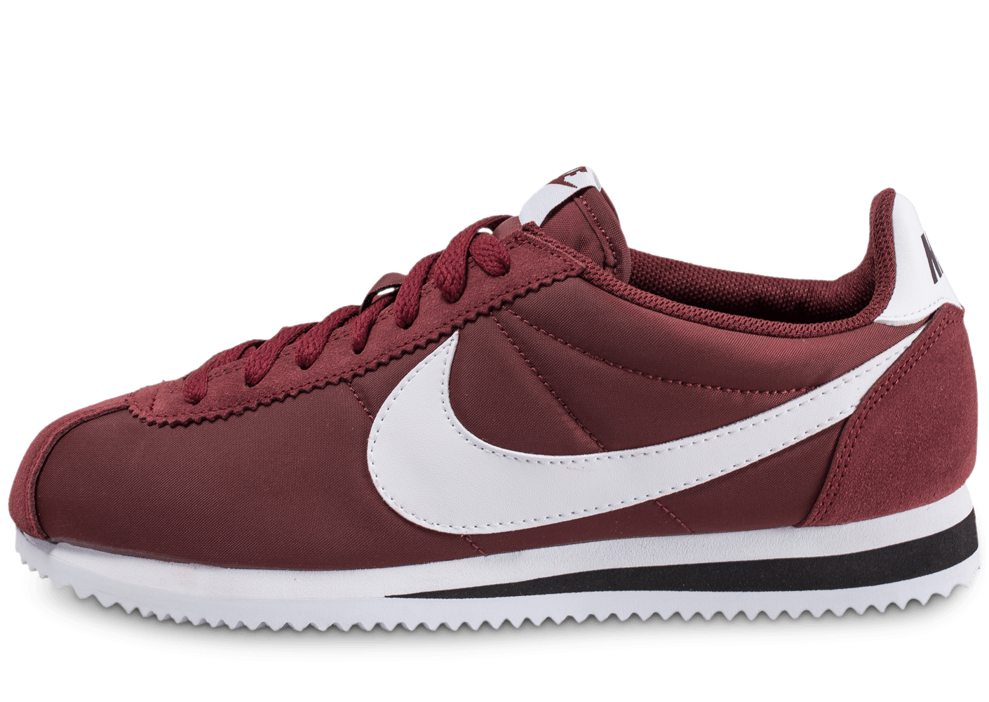 nike cortez nylon bordeaux chaussures homme chausport. Black Bedroom Furniture Sets. Home Design Ideas