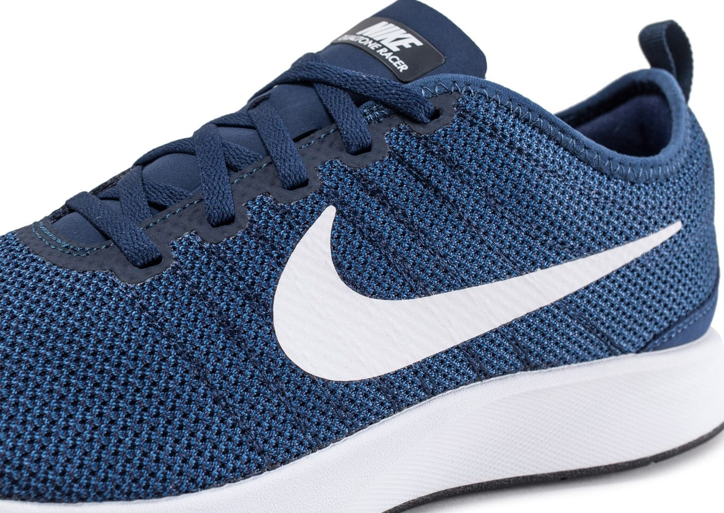 nike dualtone racer bleu marine chaussures homme chausport. Black Bedroom Furniture Sets. Home Design Ideas