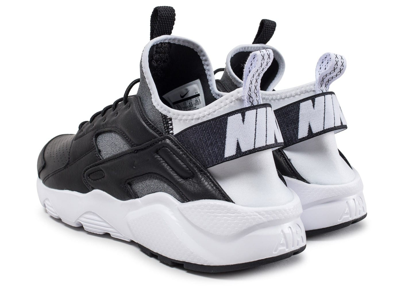 nike air huarache ultra noire et blanche chaussures homme chausport. Black Bedroom Furniture Sets. Home Design Ideas
