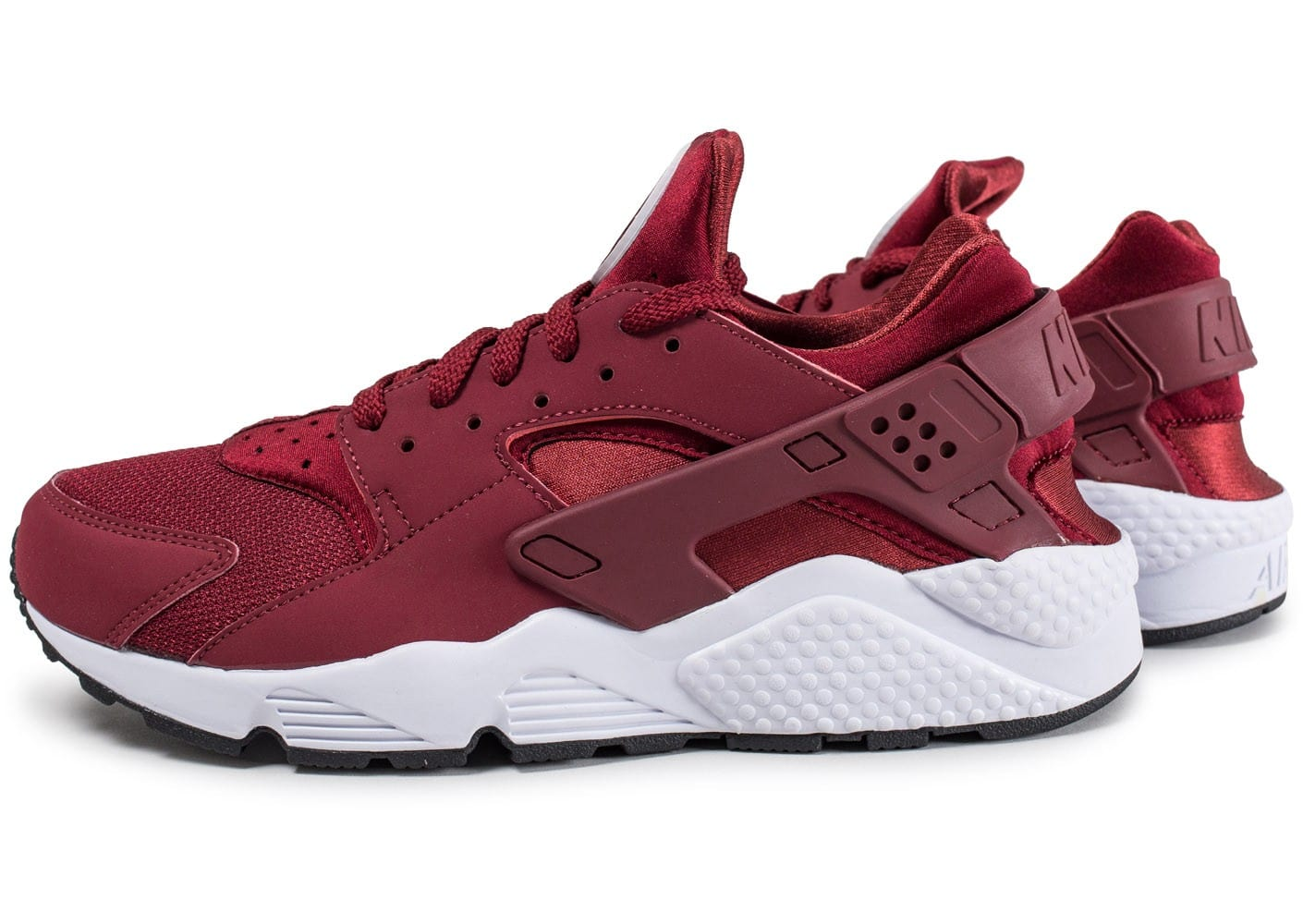 hommes nike air huarache run fonctionnement chaussures rouge. Black Bedroom Furniture Sets. Home Design Ideas