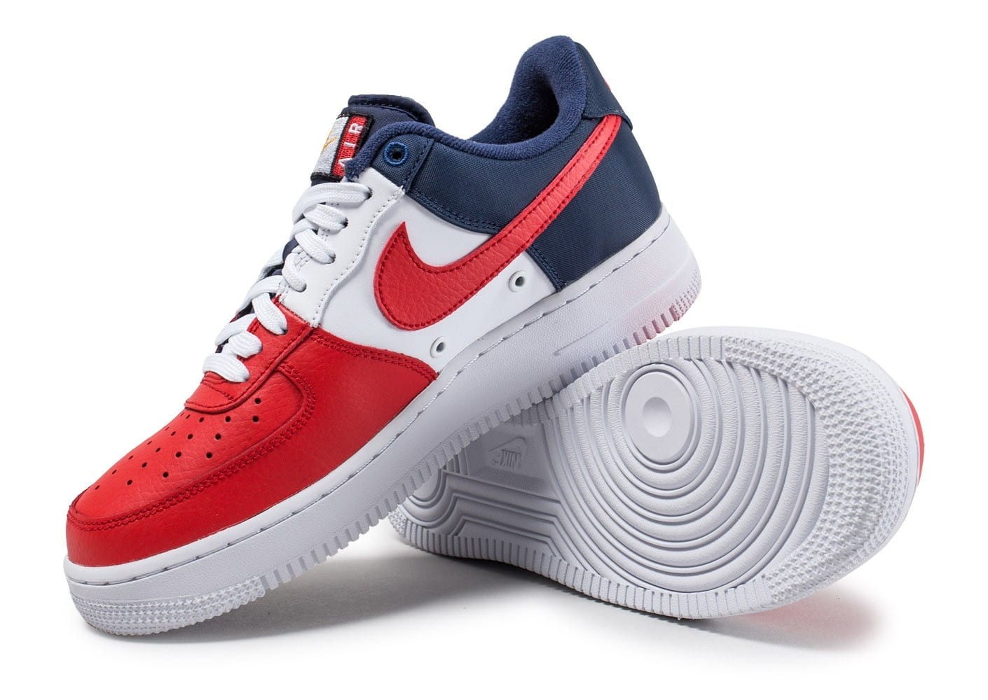Blanche Rouge Air Nike Et Kxn0op8w Force Qtsdhr One w0OX8Pkn