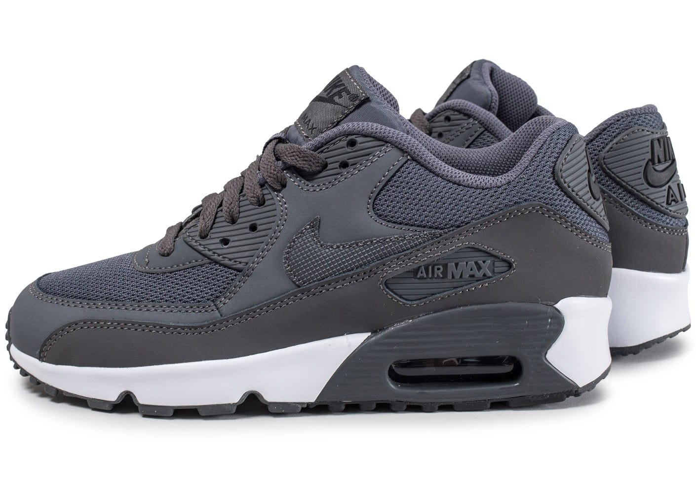 nike air max 90 mesh junior grise chaussures black friday chausport. Black Bedroom Furniture Sets. Home Design Ideas