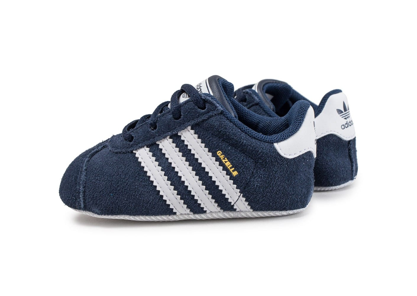 adidas gazelle crib b b bleu marine chaussures adidas chausport. Black Bedroom Furniture Sets. Home Design Ideas
