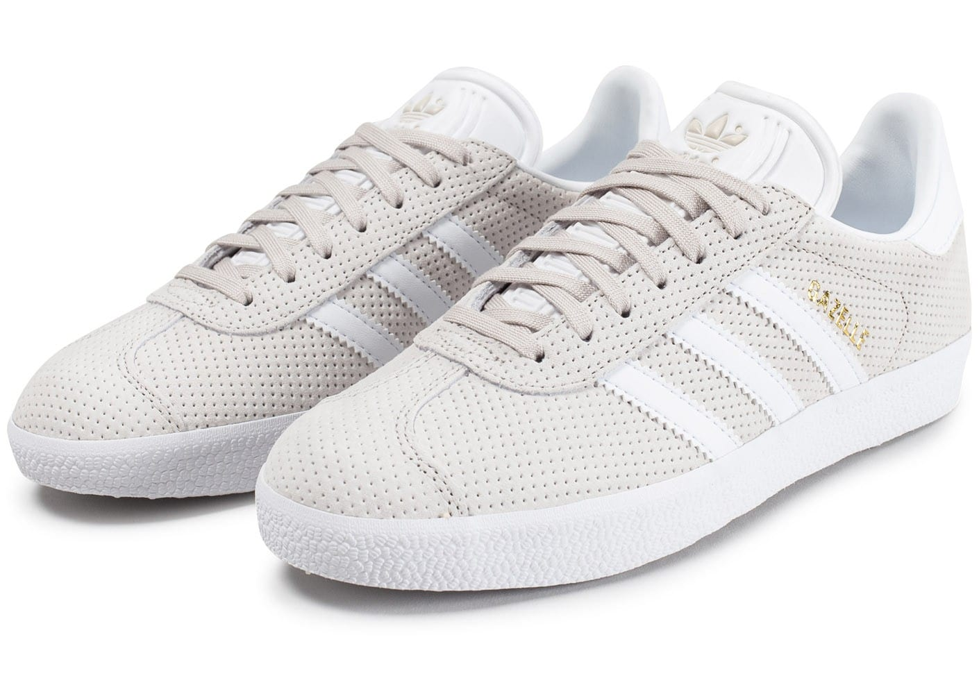 adidas gazelle perf w beige chaussures adidas chausport. Black Bedroom Furniture Sets. Home Design Ideas