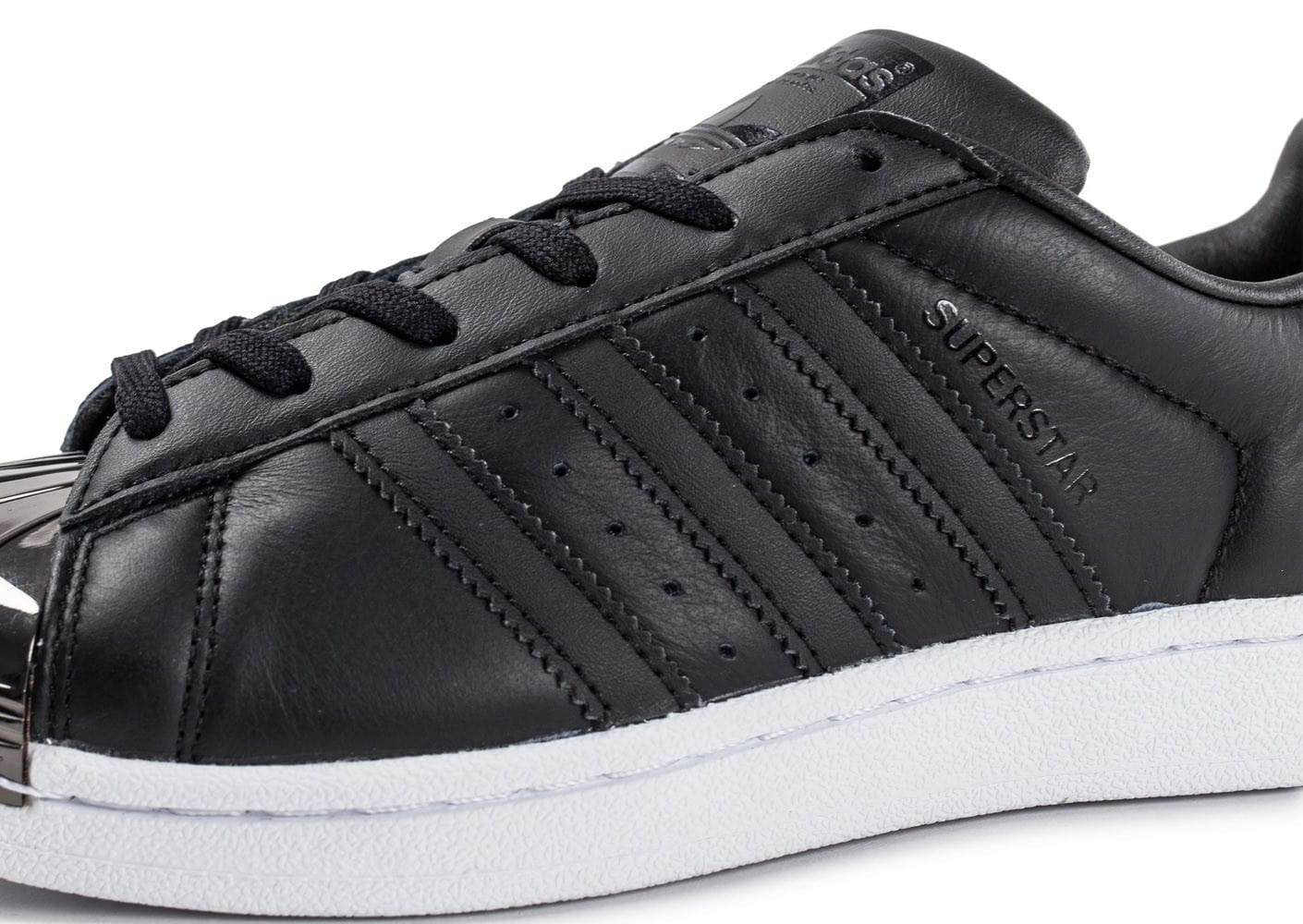adidas superstar noir bout metal