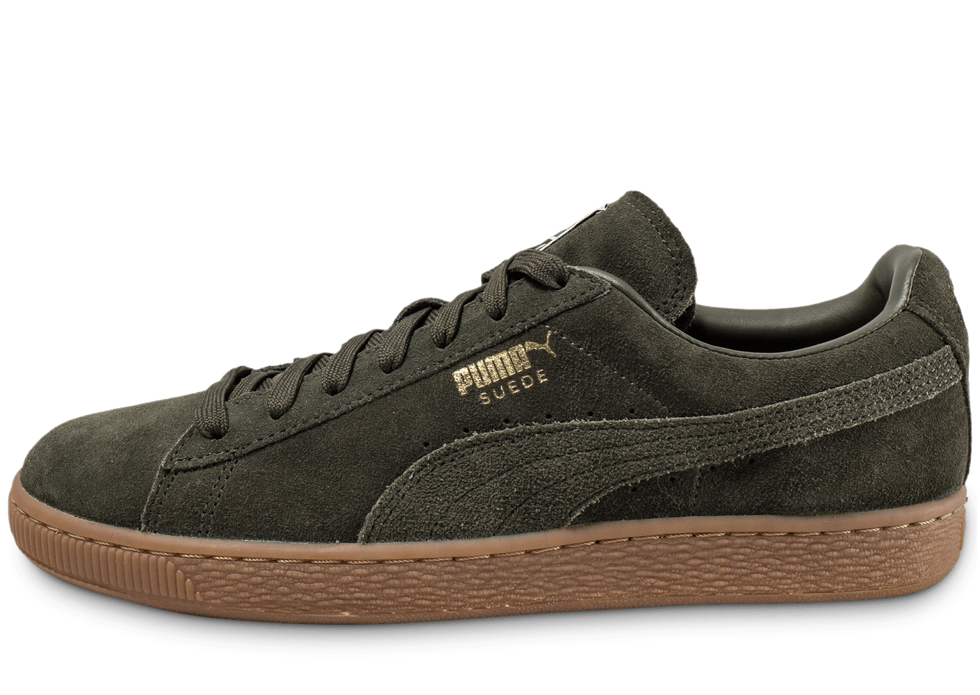 puma suede classic gum verte chaussures homme chausport. Black Bedroom Furniture Sets. Home Design Ideas