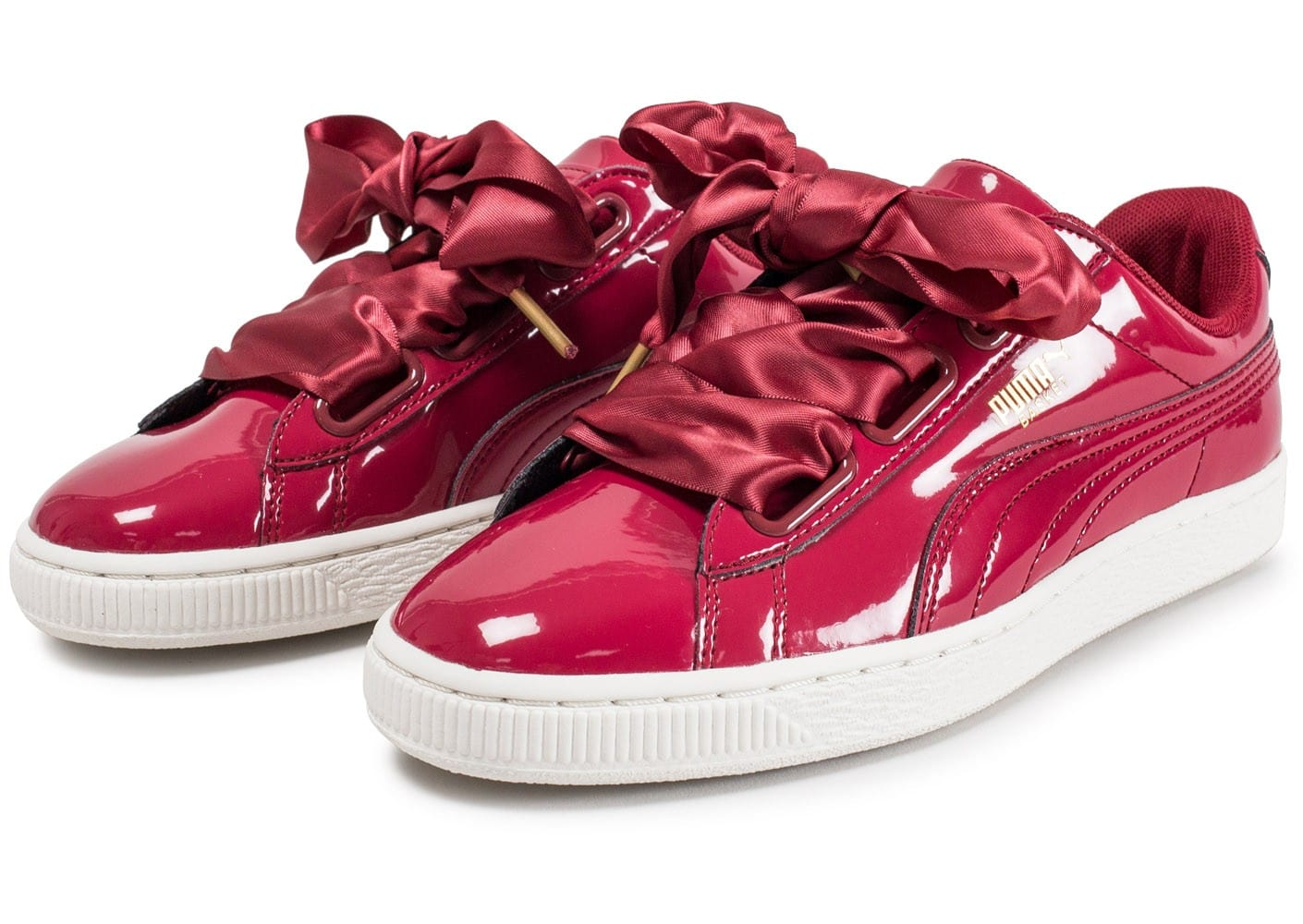 chaussures puma rouge