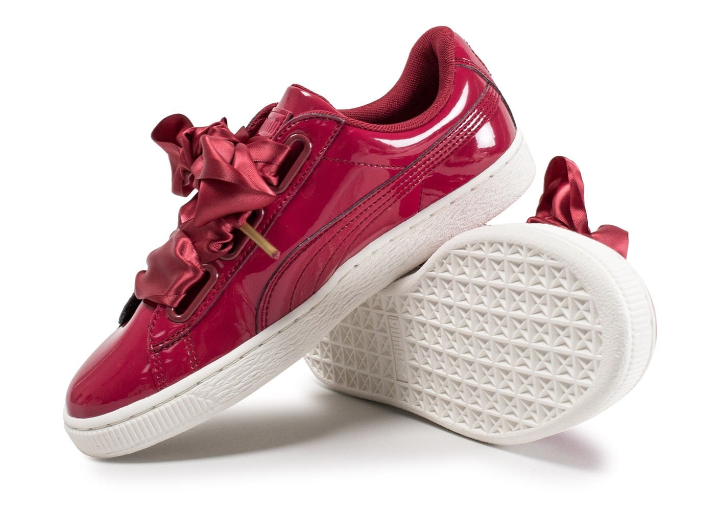 chaussure puma heart rouge
