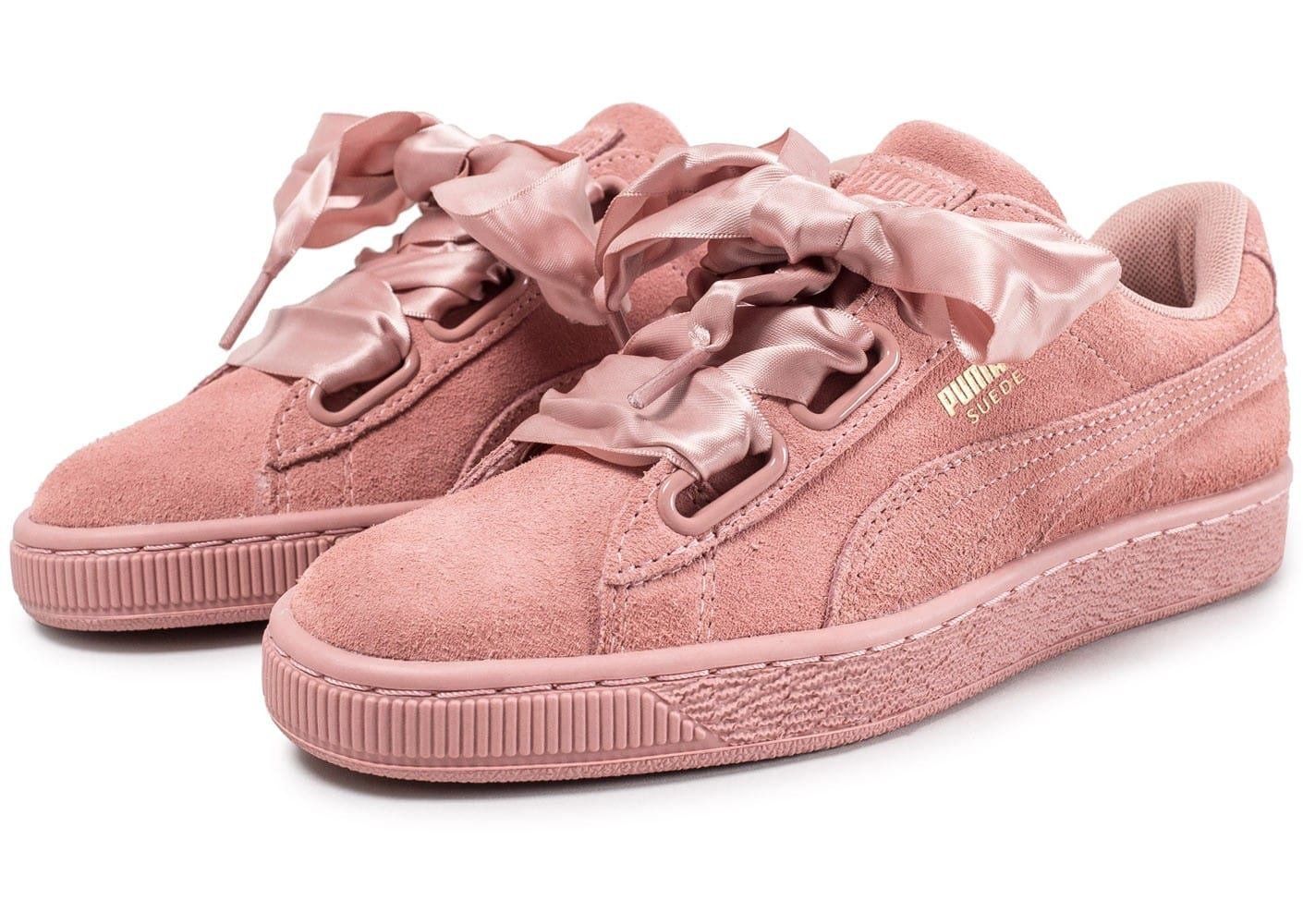 puma rose suede heart