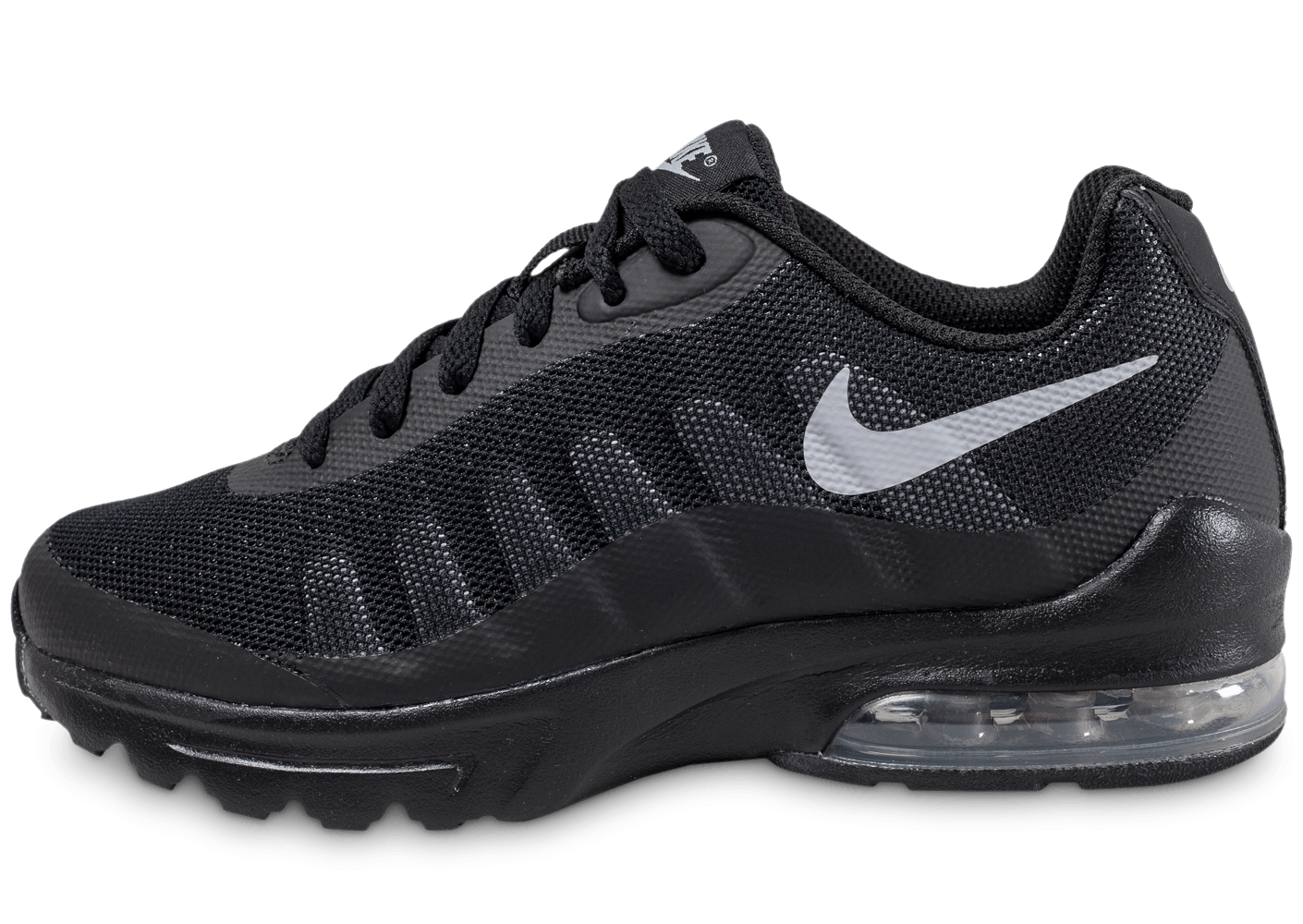 nike air max invigor junior noire chaussures enfant chausport. Black Bedroom Furniture Sets. Home Design Ideas